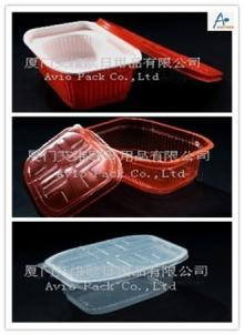 High barrier rice bowl with lid