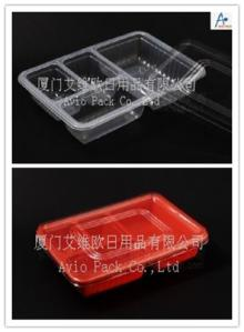 High barrier lunch/snack box