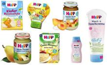 Hipp Baby Products Puree, Cereal and Health care