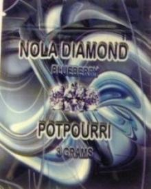 Nola Diamond Potpourri 3g Blueberry