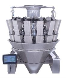 14 heads dimpled buckets multihead weigher