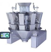 10 heads multihead combination weigher with dimpled buckets