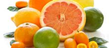 Citrus fruits for sale(Oranges, grapefruit, lime)