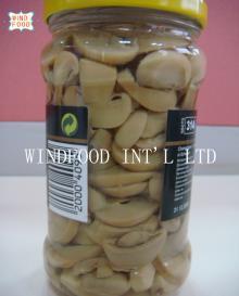 glass jar mushroom