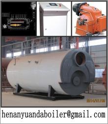 2 ton gas fired steam boiler
