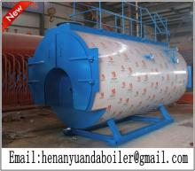Automatic 8 ton gas fired steam boiler