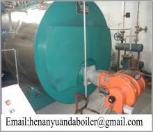 horizontal 6 ton oil fired steam boiler