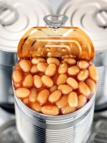 Canned Beans, Peas, Garnish, Aubergine,