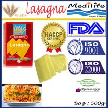 Best Spaghetti,Lasagna Pasta,Macaroni Durum Wheat Semolina,Bag 500g