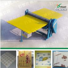 Food wrapping paper waxing machine