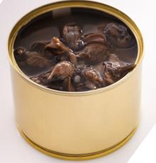 Canned snails for pets