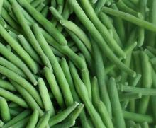 foods of Frozen green beans