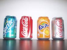 Fanta, coke and sprit cool drinks