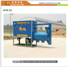 Multi-functional 6FW-D1 degerminated corn grits milling machine