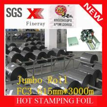 FC3 type Fineray brand Hot stamping foil jumbo roll for date coding for plastic bags