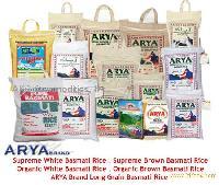 White & Brown Basmati Rice