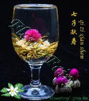 Qi Zi Xian Shou Artisan Blooming Tea