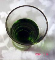 Gardenia green pigment