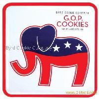 Patriotic Collection - GOP Key Lime Coolers Cookies Tin