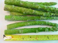 Frozen Green asparagus