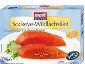 Sockeye-Wildlachs filet
