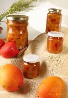 canned fruits(papaya and mango)