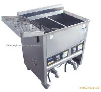 deep fryer for restaurant and shop double tube