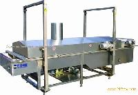 continuous fryer for hamburger
