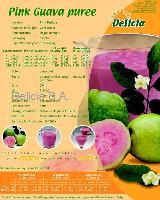 pink guava puree