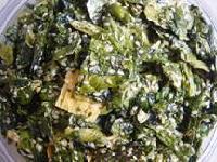 Fried Crisp Kelp With Garlic