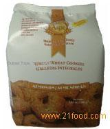 Whole Wheat Cookies with Almonds