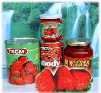 Canned Strawberries in Syrup
