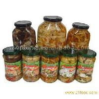 sell Jars mushrooms in Marinade