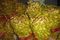 Fresh ginger 20kg mesh bags