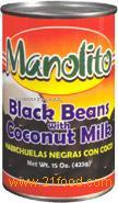 Black Beans In Coconut Milk