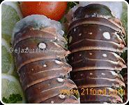 WHOLE COOKED ROCK LOBSTERS