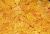 Frozen mandarin orange