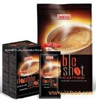 Double Shot Instant White Coffee with Inulin Added