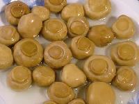 Salted Champignon mushroom