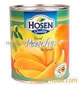 Slices Peaches