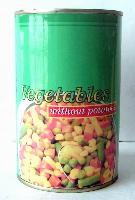 Canned mixed vegetable(without potatoes)