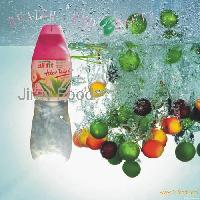 Aloe vera drinks with fruits flavors