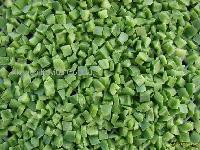 замороженный зеленый перец