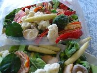 IQF mixed vegetable Western