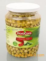 peas, beans, gherkins