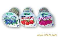Fruit-flavored yoghurt desserts Strawberry