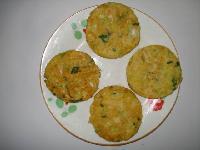 Bread-Crumbs Potherb Cabbages Pie