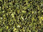 Paprika flakes green