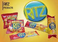 RITZ cracker biscuit