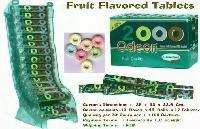 Fruit Flavoured Tablets